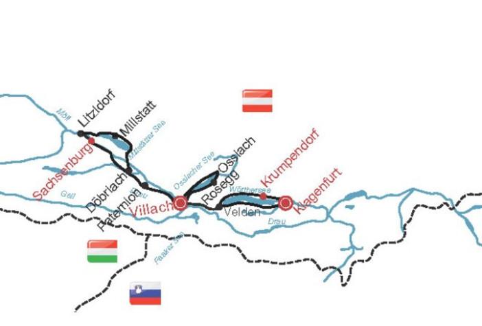 Afbeeldingsresultaat voor drau sachsenburg wörthersee